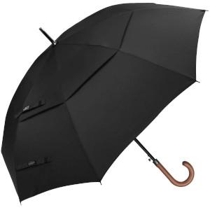 G4Free Wooden Golf Umbrella