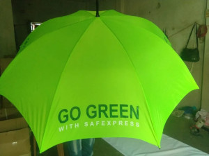 M Roto Logo Golf Umbrella