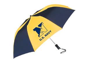 Storm Dud Navy Sporty Two-Tone Umbrella
