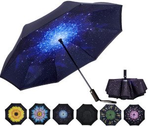 VIWINVELA Inverted Automatic Umbrella