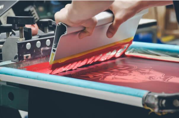 silk screen print umbrella